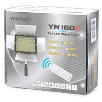 Светодиодный осветитель Yongnuo YN-160II, микрофон