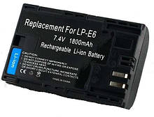Батарея Canon LP-E6 LPE6 EOS Mark 5D 7D 60D