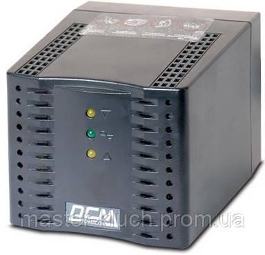 Стабилизатор напряжения Powercom TCA-2000 чёрный