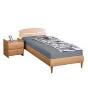 Кровать 1,6х2 Кэнди (МДФ),бук, ножки буковые конус бук ТМ АМФ