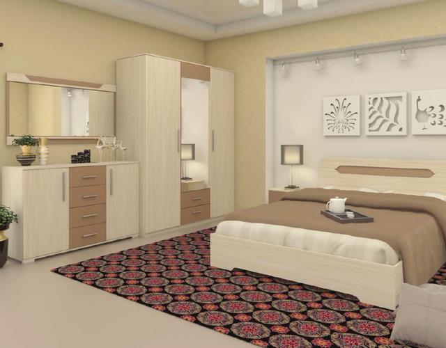 Модульная спальня Сандра
