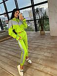 Женский стильный костюм из рефлективной плащевки светоотражающий(в расцветках), фото 3