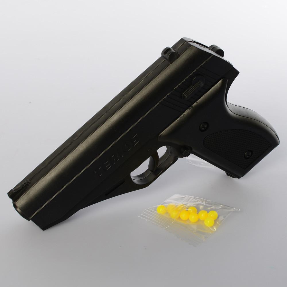 Пистолет P168  на пульках, 15см, в кульке, 11-15-2,5см