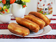 Пирожки с картофелем  по 5 кг. в ящике