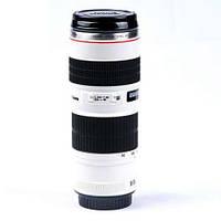 Чашка термос объектив Canon 70-200mm f/2.8 кружка