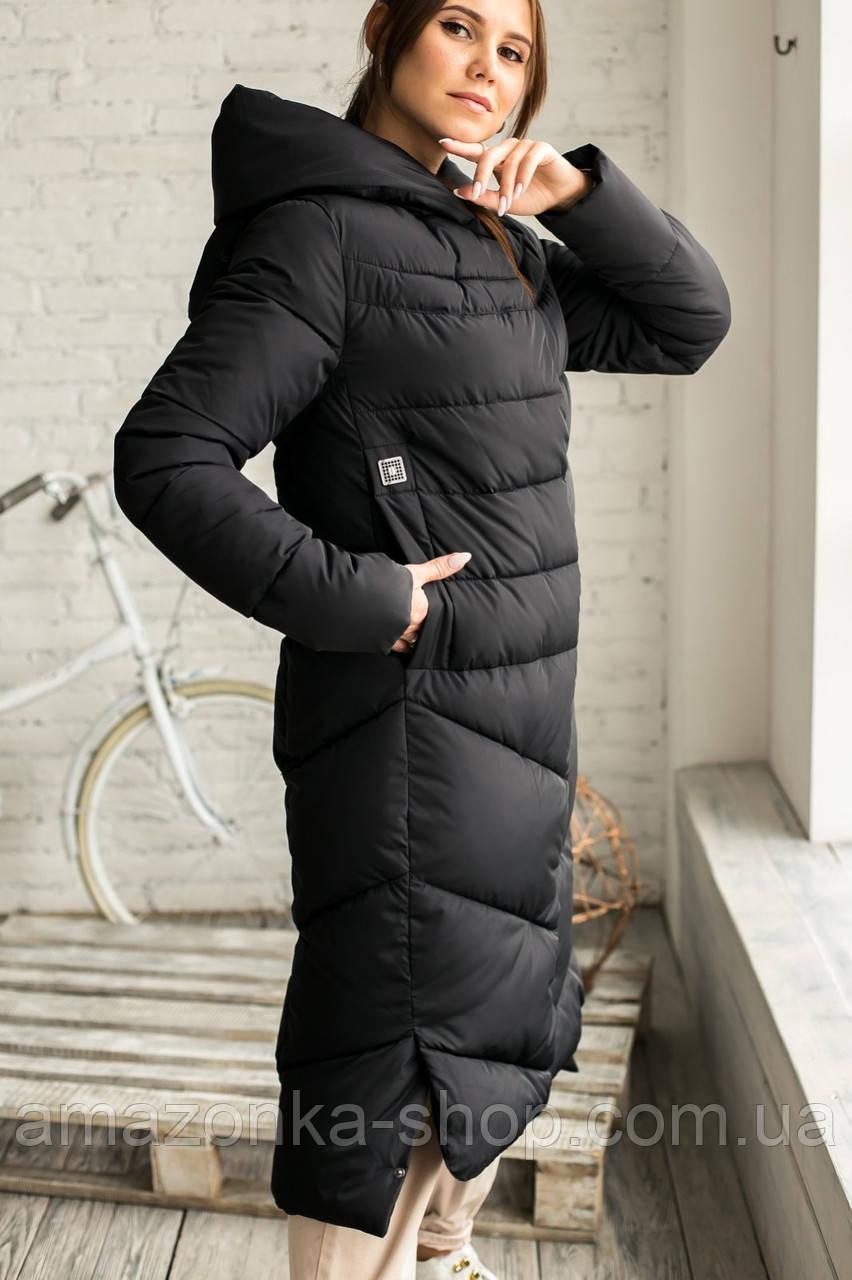 Женская модная куртка новинка зима 2020- 2021