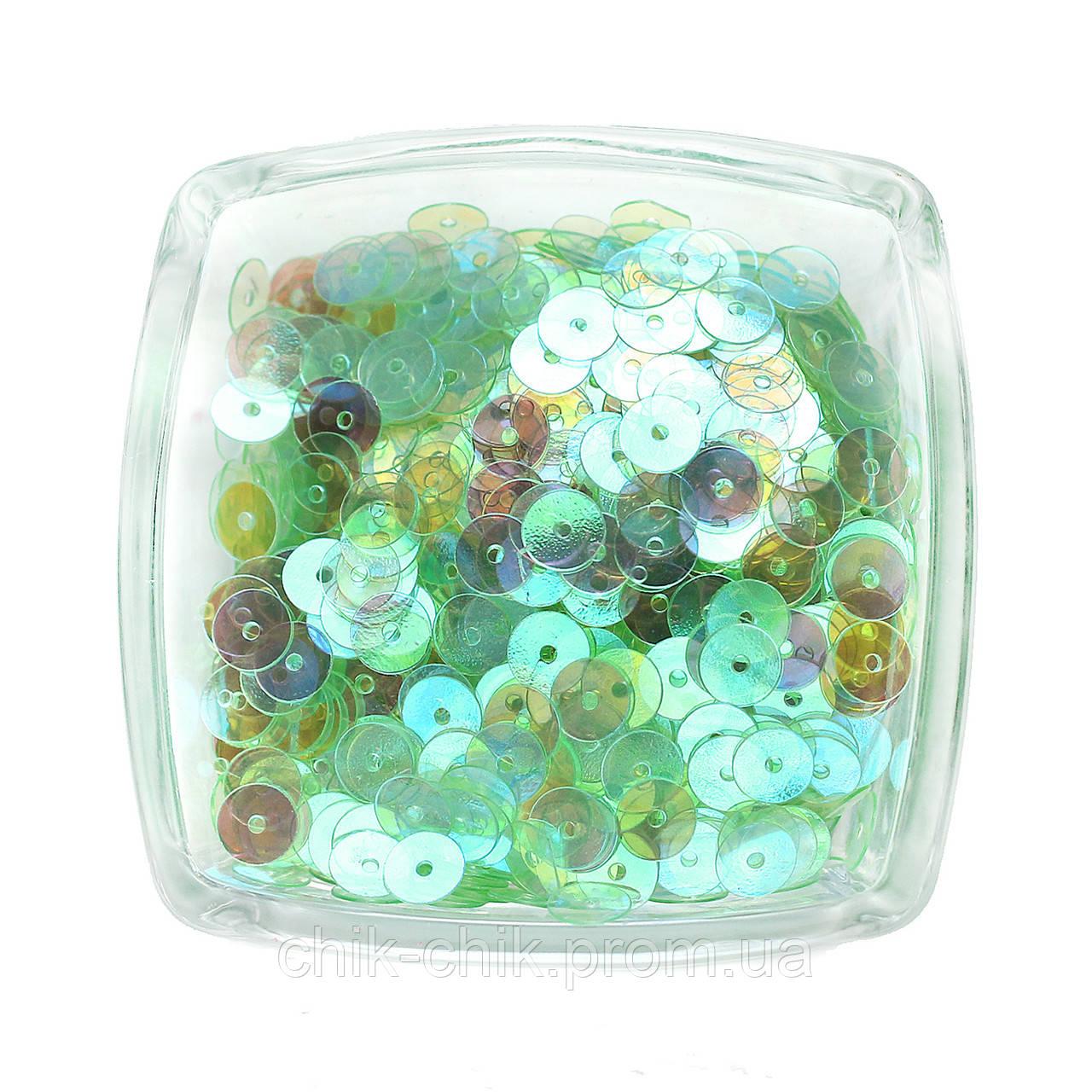 Пайетки прозрачные 25 мм клетка фарадея ткань купить