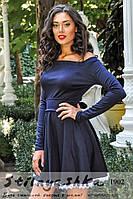 Женское платье Камея синее, фото 1