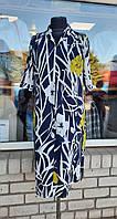 Женское синее платье, фото 1