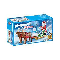 """Ігровий набір """"Санта на санях"""" Playmobil (4008789094964)"""