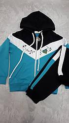 Костюм-двійка спортивний для дівчаток розмір 134