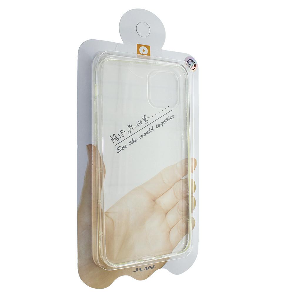 Чехол Wuw на iPhone 11 Pro Max силиконовый прозрачный