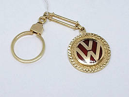 Золотой брелок Volkswagen. Артикул 5221550 WV