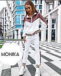 КМ59009 Женский стильный спортивный костюм норма и батал, фото 4