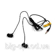 Навушники вакуумні з мікрофоном Celebrat G4