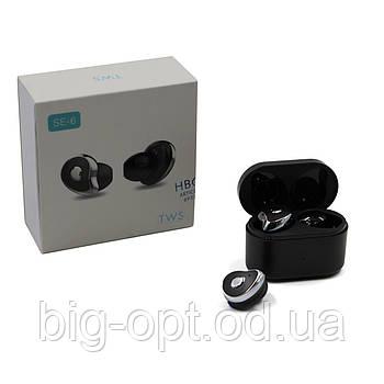 Навушники MDR HBQ SE6 TWS BT чёрныеые