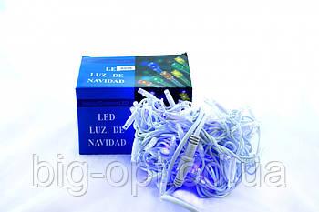 Светодиодная LED гирлянда Xmas 100L 3.3 B (синий диод)