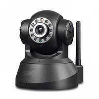 Беспроводная поворотная IP камера WiFi microSD TF