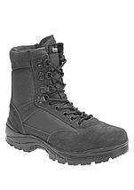 Ботинки тактические MIL-TEC с застежкой-молнией YKK демисезон серые, фото 3