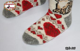 Женские шерстяные носки Тигруля, фото 3