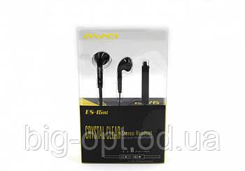 Наушники с микрофоном Awei ES 15HI