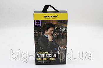 Наушник беспроводной с микрофоном Awei A850AL BT (bluetooth гарнитура)
