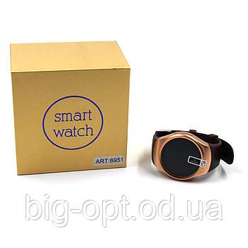 Часы Smart watch Kingwear KW18 Gold