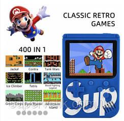 Игровая консоль Sup приставка с цветным LCD экраном и джойстиком 8-bit 400 игр