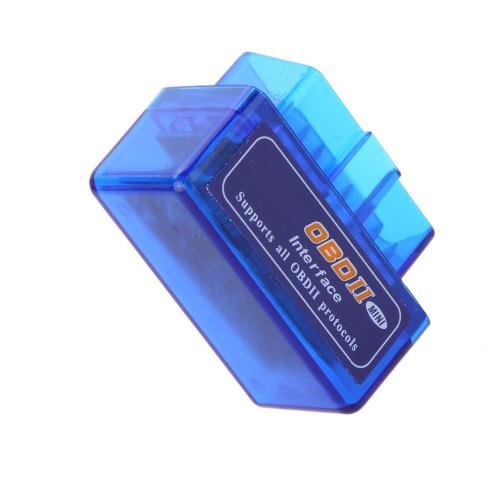 Мини ELM327 OBD2 Bluetooth сканер диагностики авто, фото 1