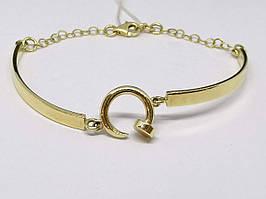 Золотий браслет в стилі Картьє. Артикул 322952Ж 16,5