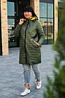 Осенняя женская куртка плащ больших размеров - модель 2020- (кт-149), фото 3