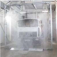 Система дезинфекции высокого давления для автотранспорта. Обработка 360 °