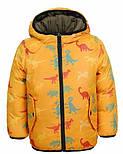 Демисезонная двухсторонняя курточка на мальчика в трёх цветах, Glo-story Венгрия, фото 4