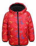 Демисезонная двухсторонняя курточка на мальчика в трёх цветах, Glo-story Венгрия, фото 2
