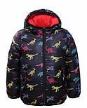 Демисезонная двухсторонняя курточка на мальчика в трёх цветах, Glo-story Венгрия, фото 7