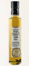Олія оливкова першого віджиму з ломтиками сушеного чорного трюфелю (0,5%) 100 мл скло