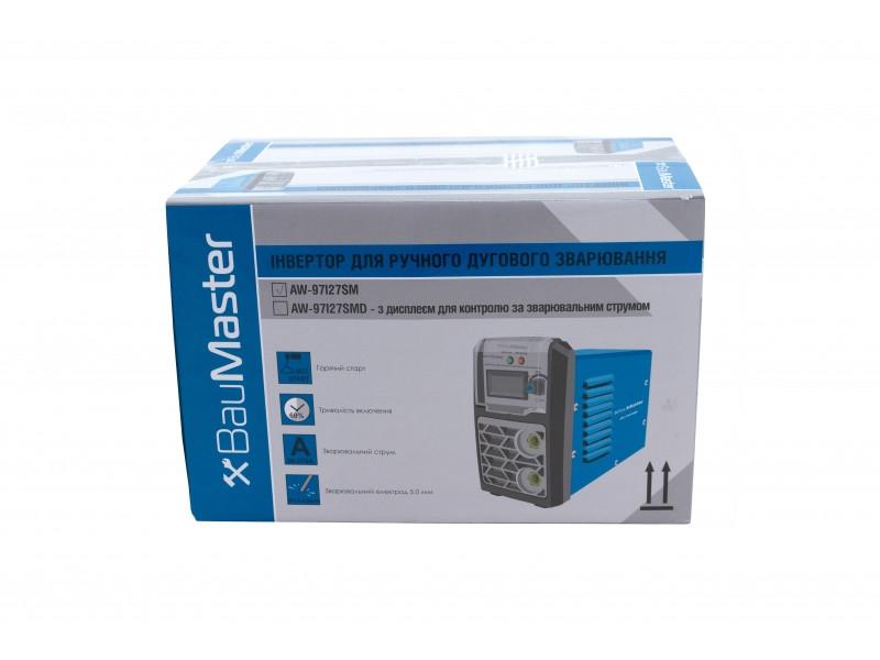 Інвертор зварювальний IGBT 230А, смарт, дисплей BauMaster AW-97I23SMD