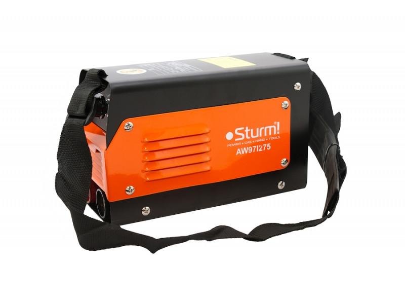 Зварювальний інвертор (275А, Touch Start) Sturm AW97I275