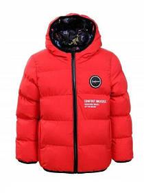 Демисезонная двухсторонняя курточка на мальчика в трёх цветах
