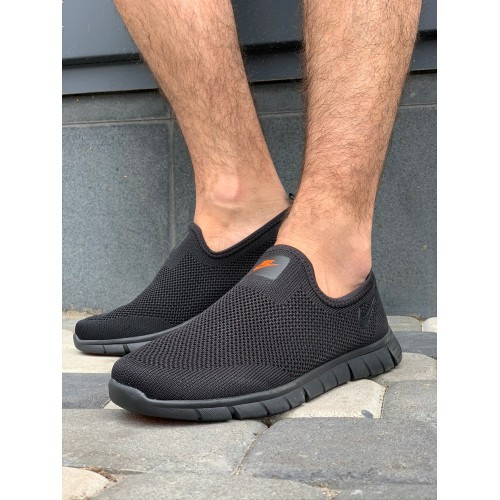 Кроссовки мужские Nike G5199-4 черный лето-весна