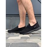 Кроссовки мужские Nike G5199-4 черный лето-весна, фото 3