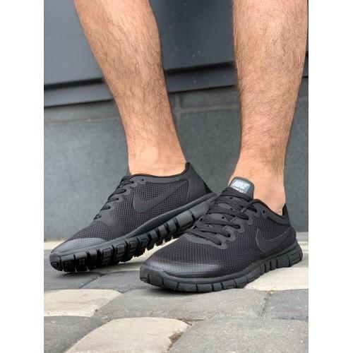 Кроссовки мужские Nike G9385-6 черный лето-весна