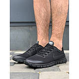 Кроссовки мужские Nike G9385-6 черный лето-весна, фото 3