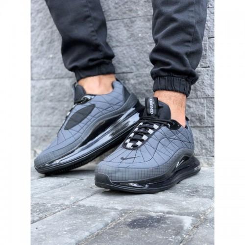 Кроссовки мужские Nike А818-2 серые весна-осень