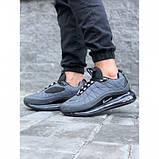 Кроссовки мужские Nike А818-2 серые весна-осень, фото 3