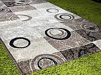 Ковровая дорожка тканная бежевая Karat Carpet: 70 см