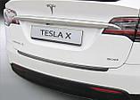 Пластиковая накладка заднего бампера для Tesla Model X 2015+, фото 2