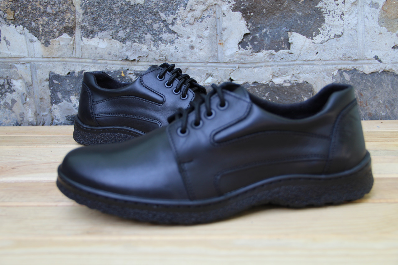 Мужские кроссовки из натуральной кожи WB01