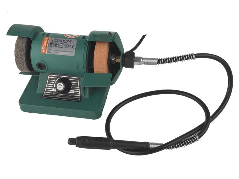 Точильний верстат - гравер Sturm75 мм, 140 Вт BG60075