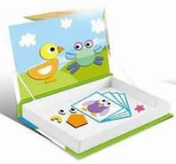 Детская магнитная книга-игра Животные 914C